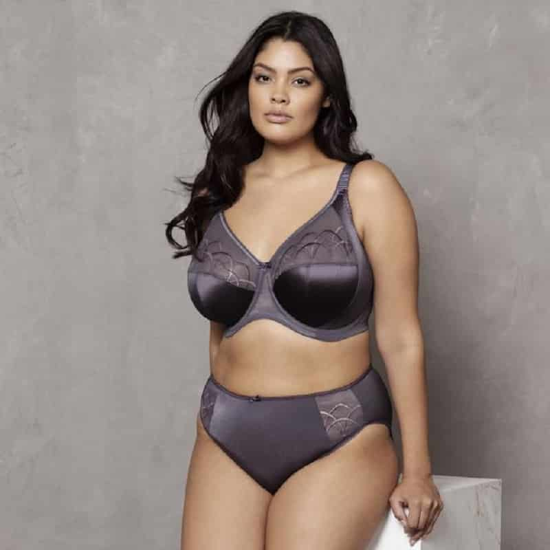 Elomi Cate Full Cup Bra Anthracite
