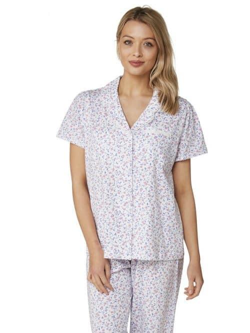 100% Cotton Cherry Print Pyjamas Marlon