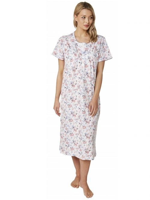 100% Cotton Short Sleeve Nightdress Clancy