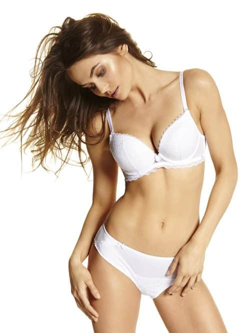 White Push up Bra Agio