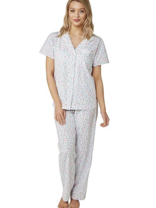 100% Cotton Cherry Print Pyjamas Marlon
