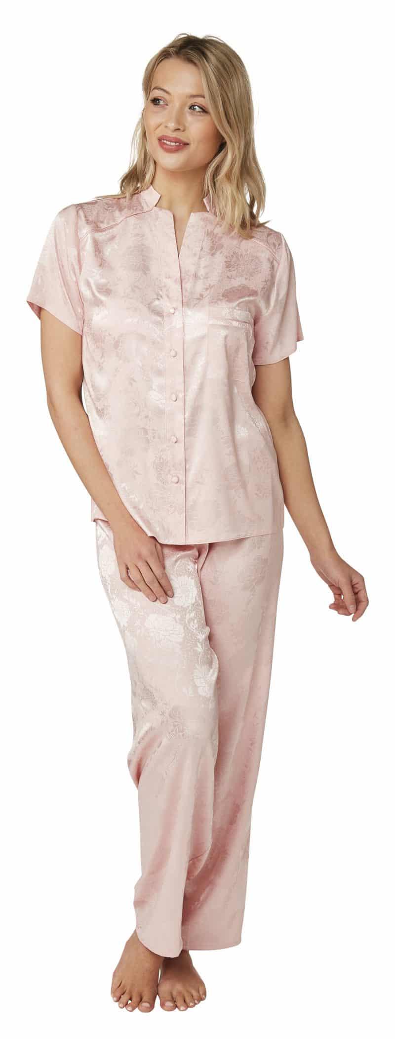 Jaquard Pyjamas Indigo Sky In23063