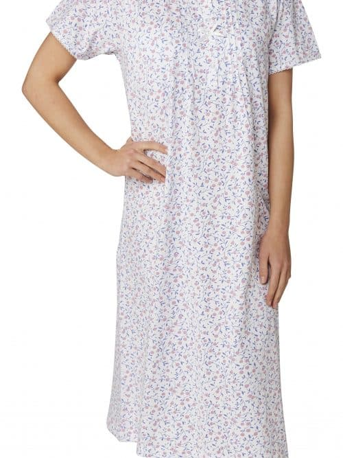 100% Cotton Nightdress Cherry Print Marlon Ma22783