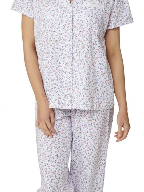 100% Cotton Cherry Print Pyjama Marlon Ma22784