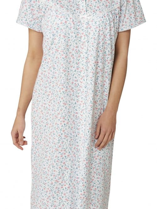 100% Cotton Nightdress Cherry Print Marlon Ma22786