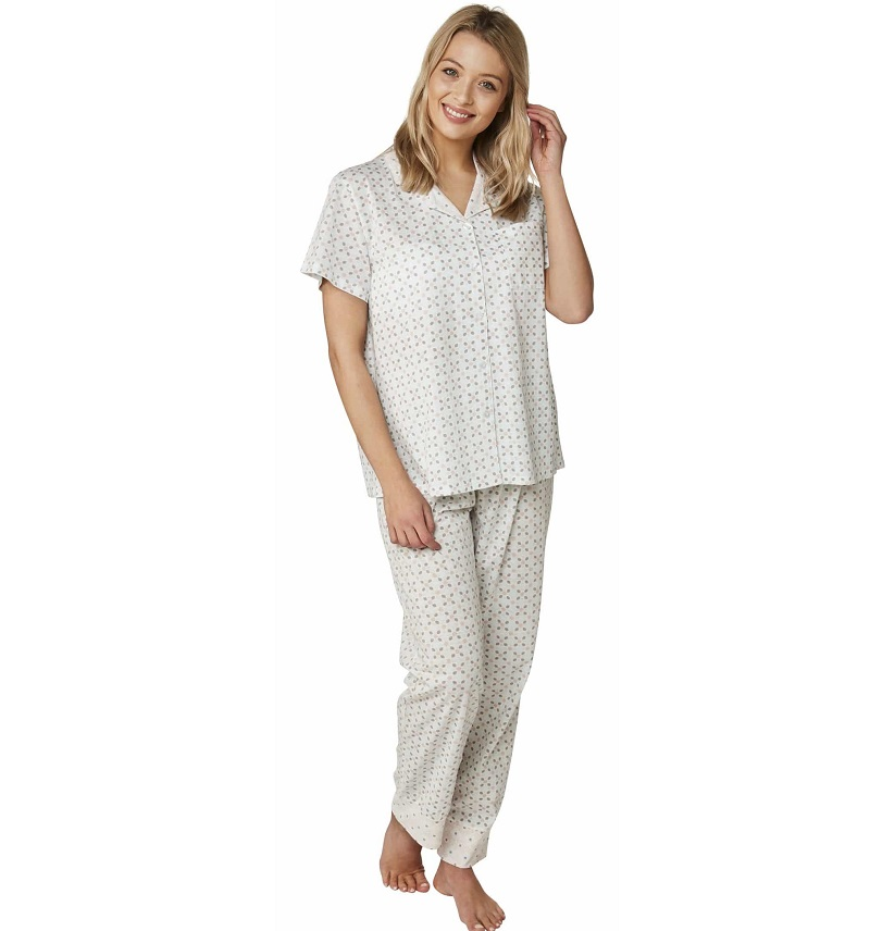 Mosaic Print Short Sleeved Pyjamas Marlon