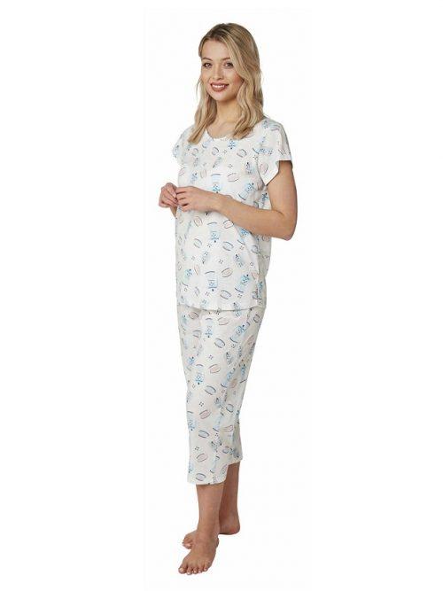 3/4 length Pyjama Teapot Print
