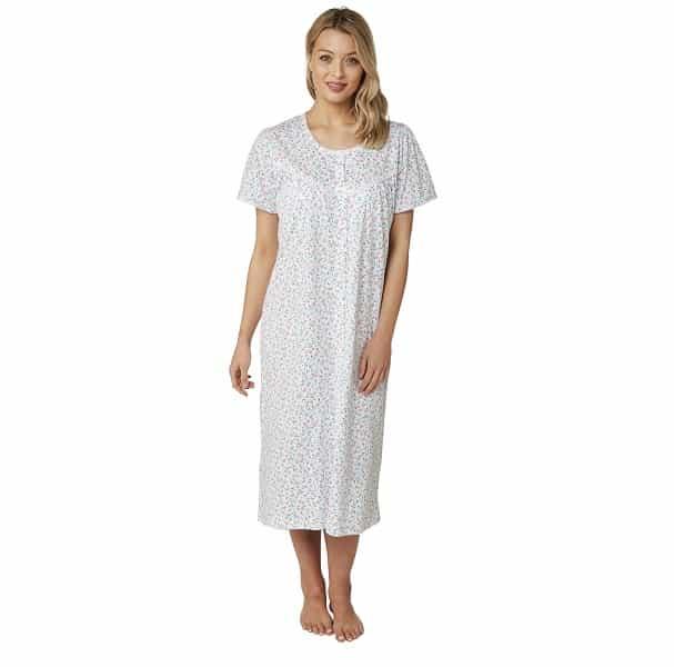 100% Cotton Nightdress Cherry Print Marlon Ma22786