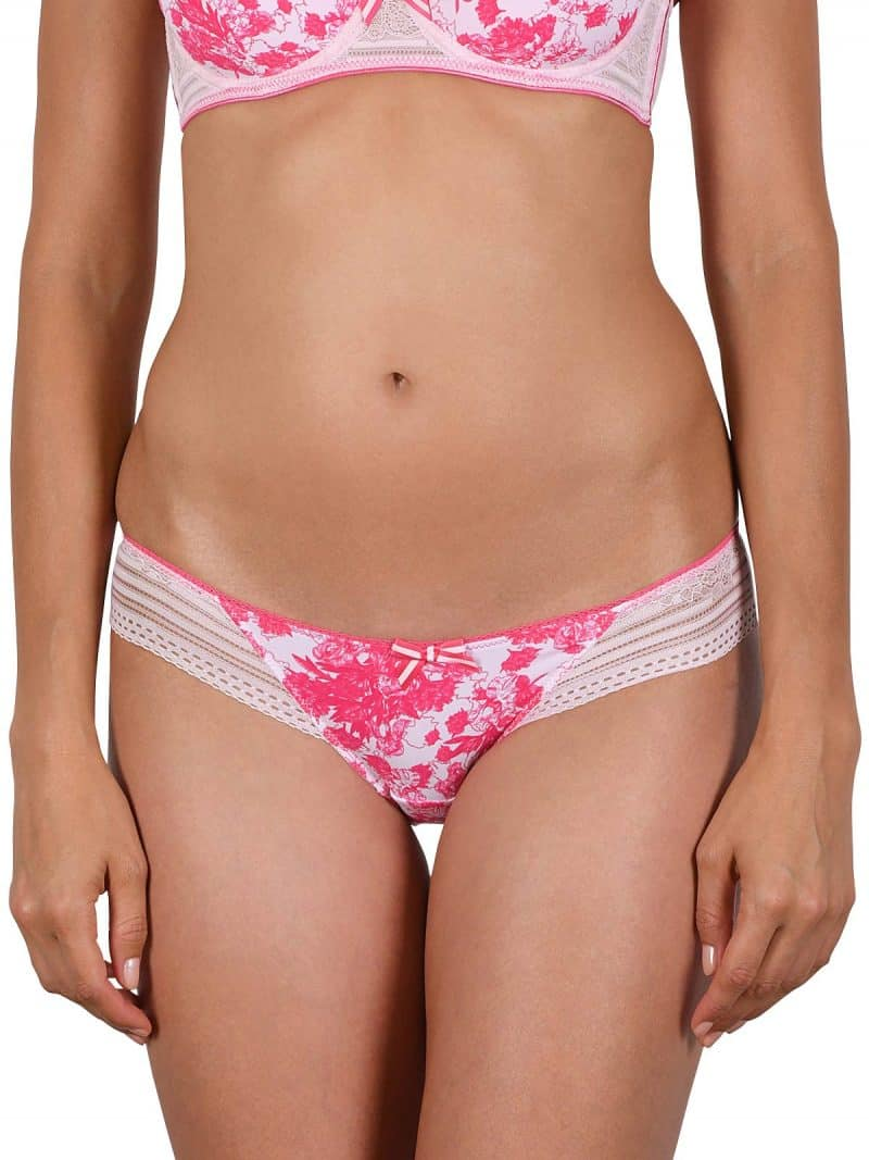 Cybele Brief Pink Lace