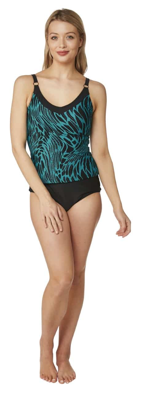 Two Piece Tankini Oyster Bay Torquoise