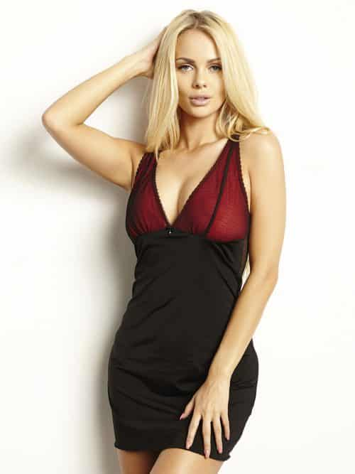 Chemise Agio Black and Red
