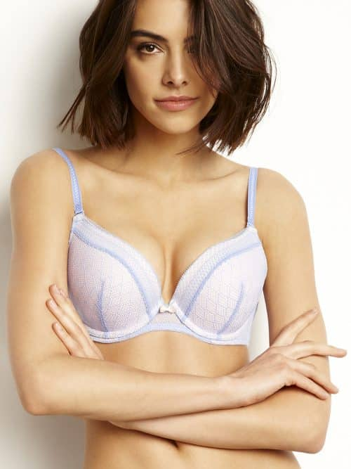 Push Up Bra Agio Bluestone