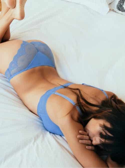 Cybele Blue Lace Brief