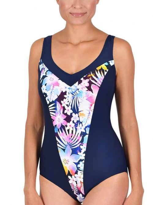 Naturana Floral Control Swimsuit