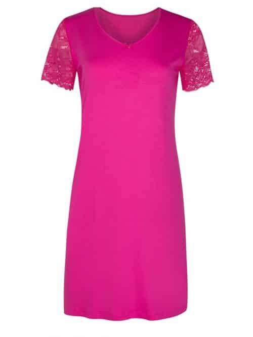 Pink Short Sleeved Nightdress Cybele
