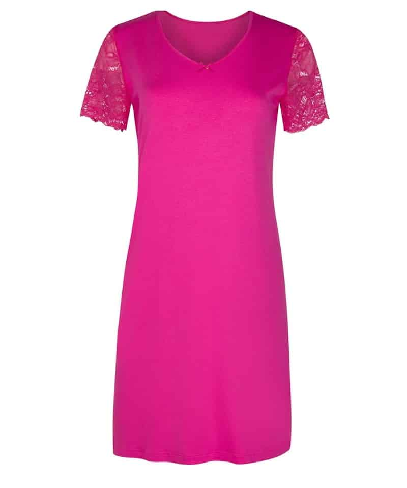 Pink Short Sleeved Nightdress Cybele