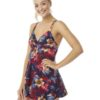 Oyster Bay Floral Skirted Swimsuit