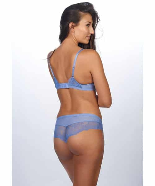 After Eden Blue Lace Kady Brief