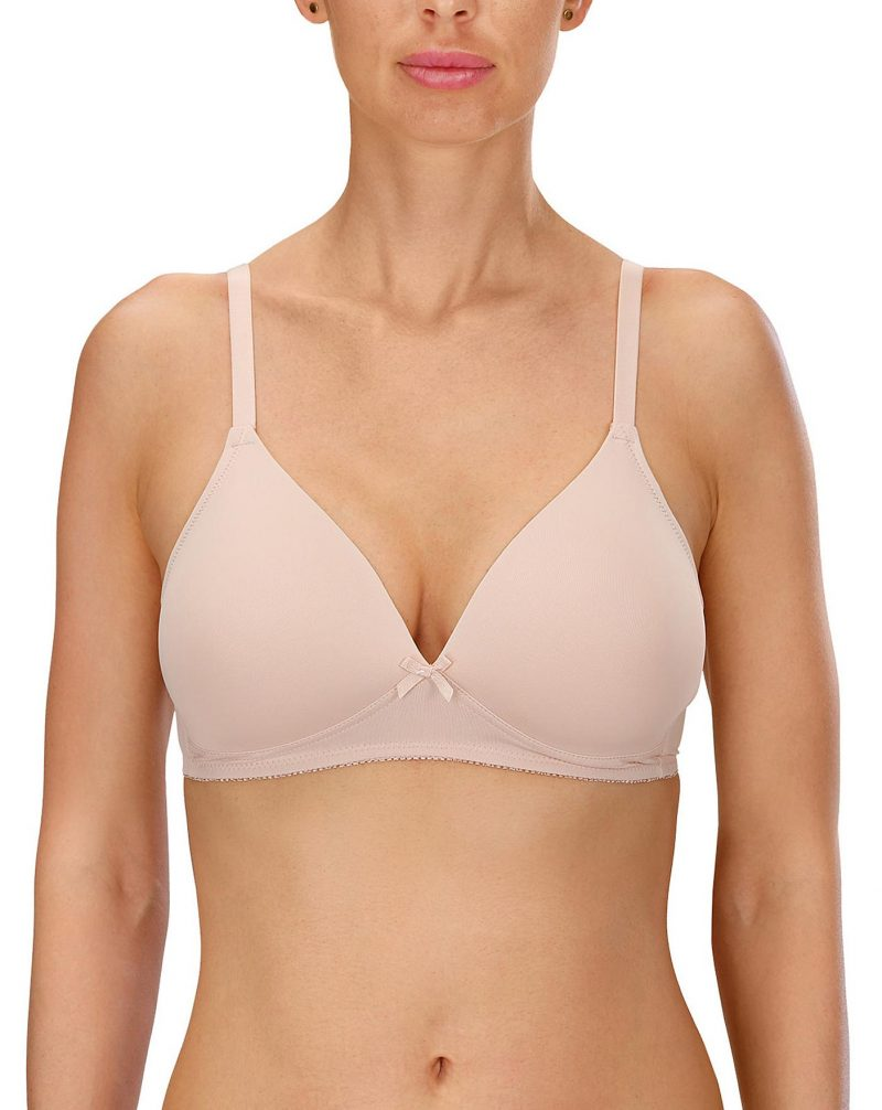 Soft cup no wire Padded Bra Naturana