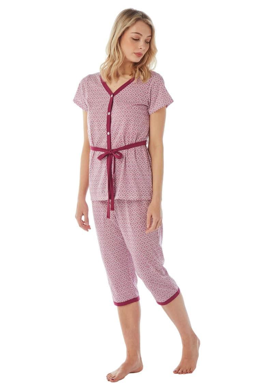 Indigo Sky Berry Floral Pyjamas