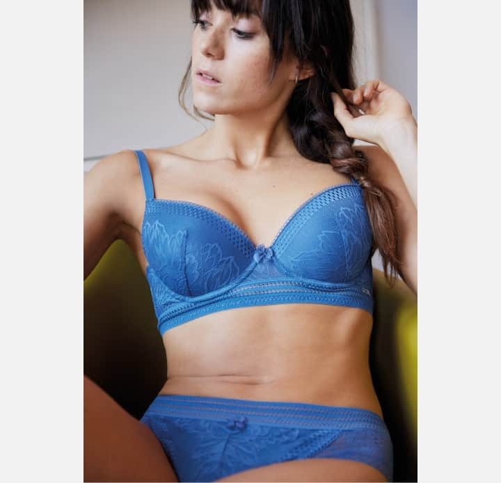 Lace Brief Cybele Powder Blue