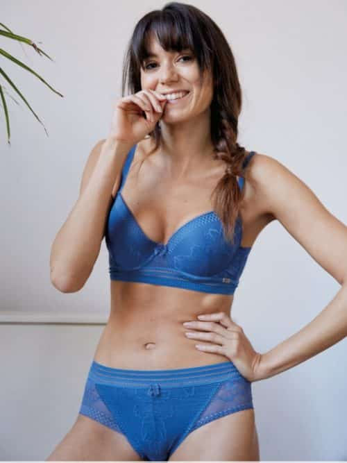 Cybele Lace Brief Powder Blue