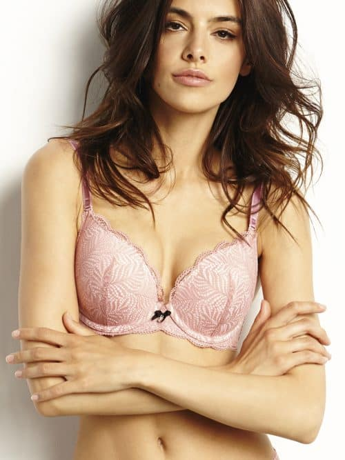 Push up Pink Bra Agio
