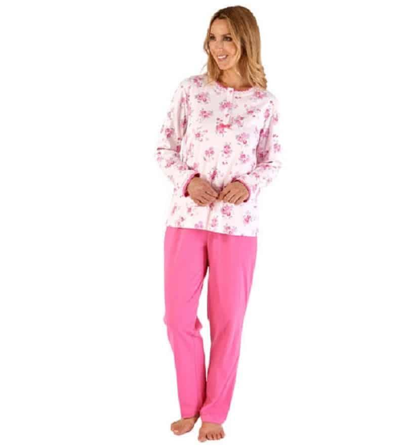100% Cotton floral Pyjama Slenderella