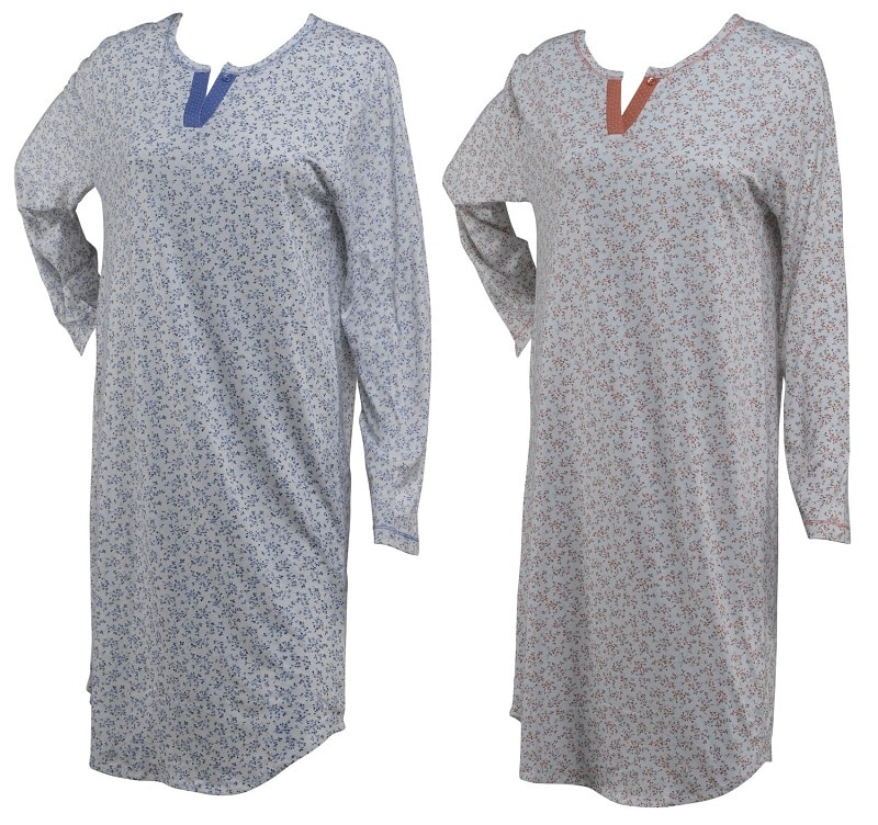 Cotton long sleeved Nightdress Ary & Belle