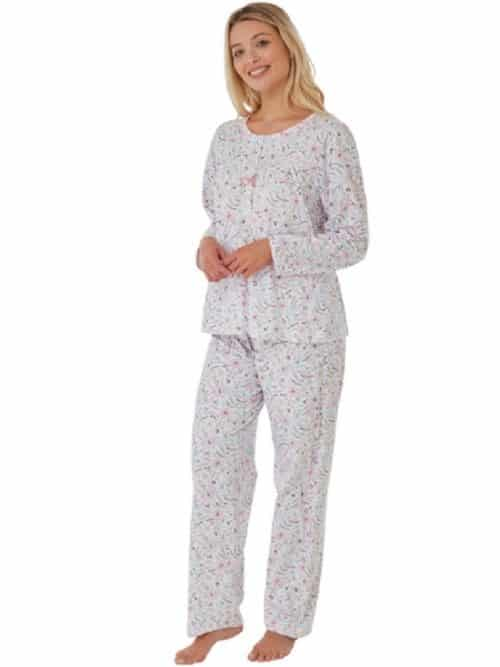 100% Cotton long sleeve Print Pyjamas Marlon