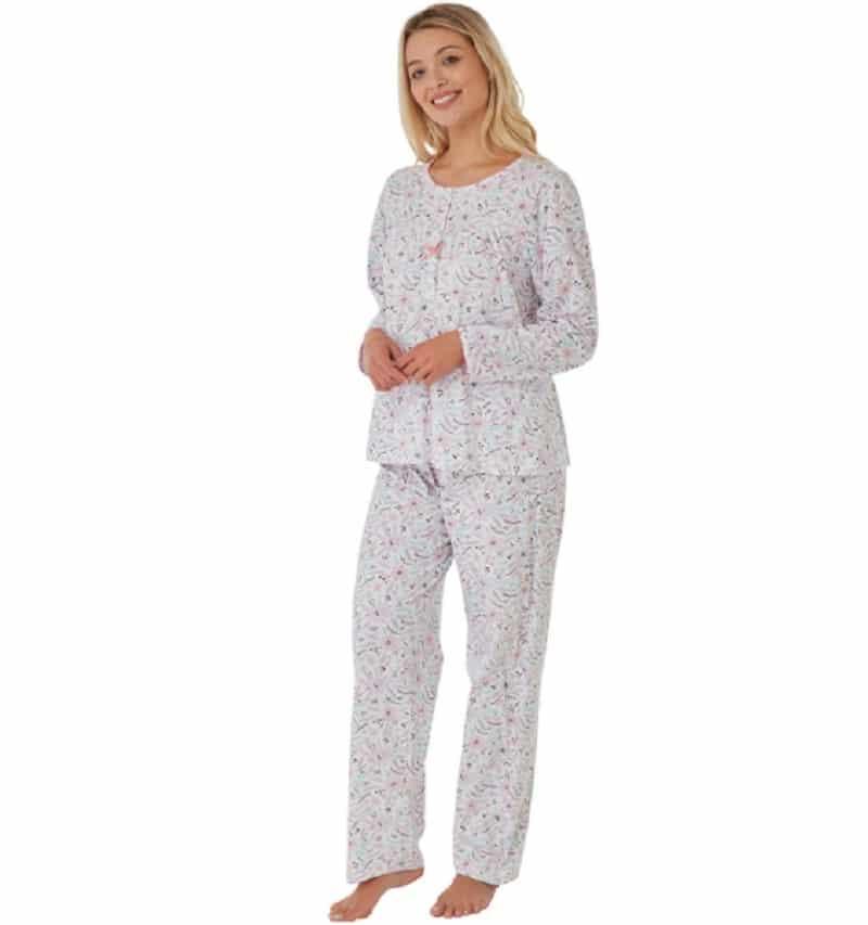 100% Cotton long sleeve Print Pyjamas Marlon
