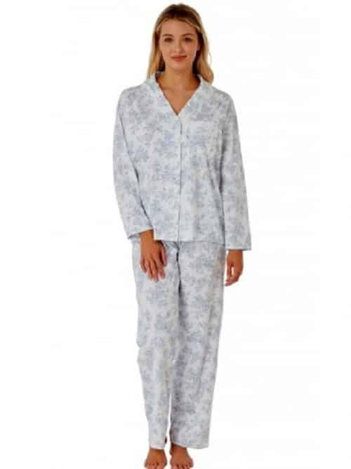 100% Cotton Button Up Pyjamas Marlon