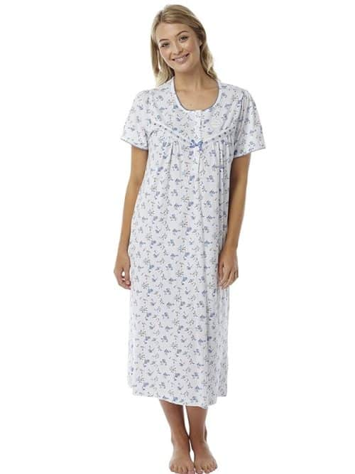 Cotton short sleeve Nightdress Marlon