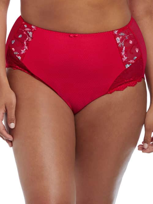 Elomi Red Full Brief Charley