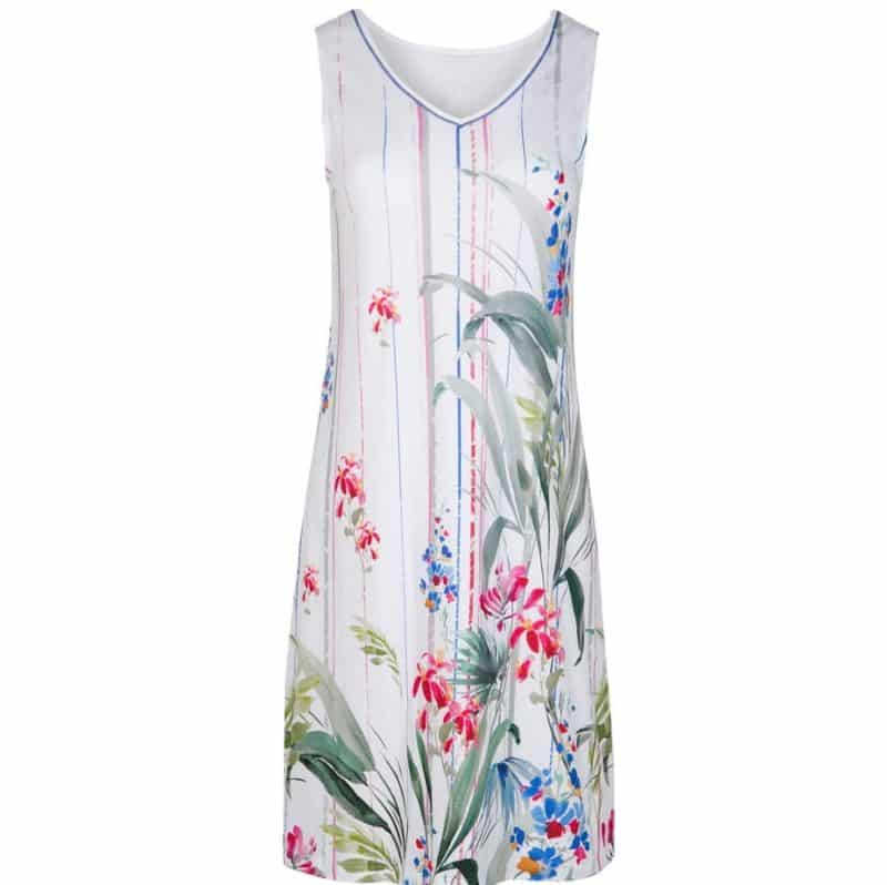 Cotton Nightdress Sleeveless Cybele