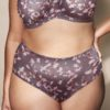 Goddess Kayla full Brief Gray Blossom