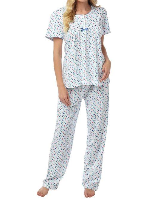 Cotton Short Sleeve Pyjama Marlon