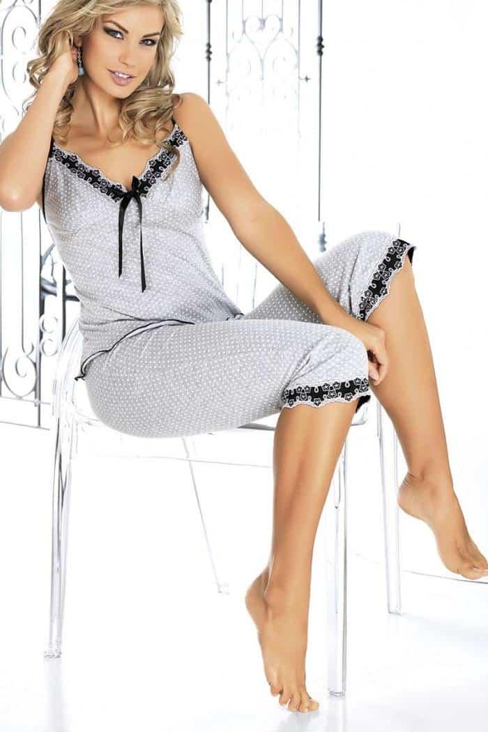Irall Short leg Grey Pyjama Arianne