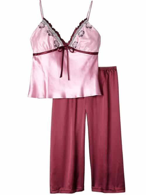 Satin Strappy Pyjama Irall Sophie