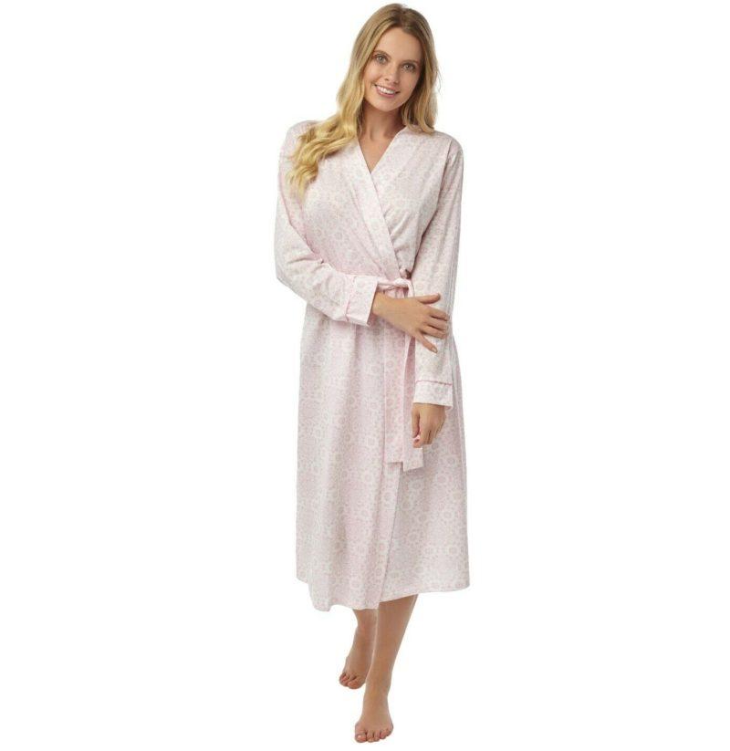 Light Summer Dressing Gown Pink Marlon