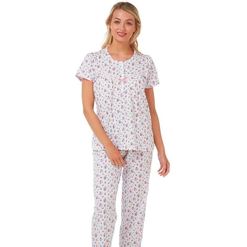 100% Cotton Short Sleeve Print Pyjamas Marlon
