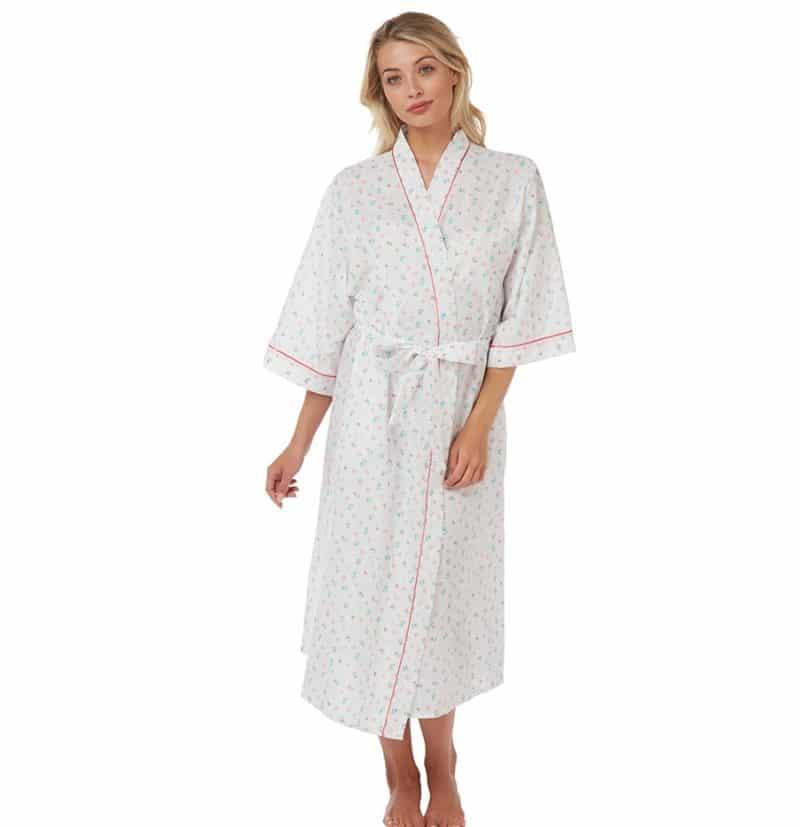 Kimono style Wrap Pink Betsy