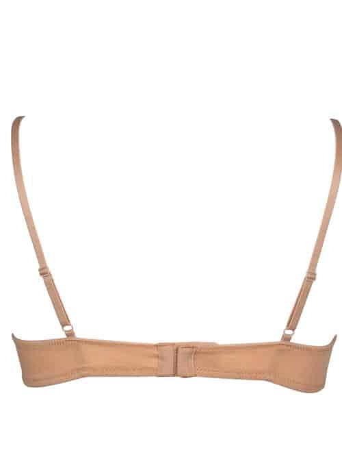 Teen bras 2 pack My Basic Organic Cotton Beige/Black