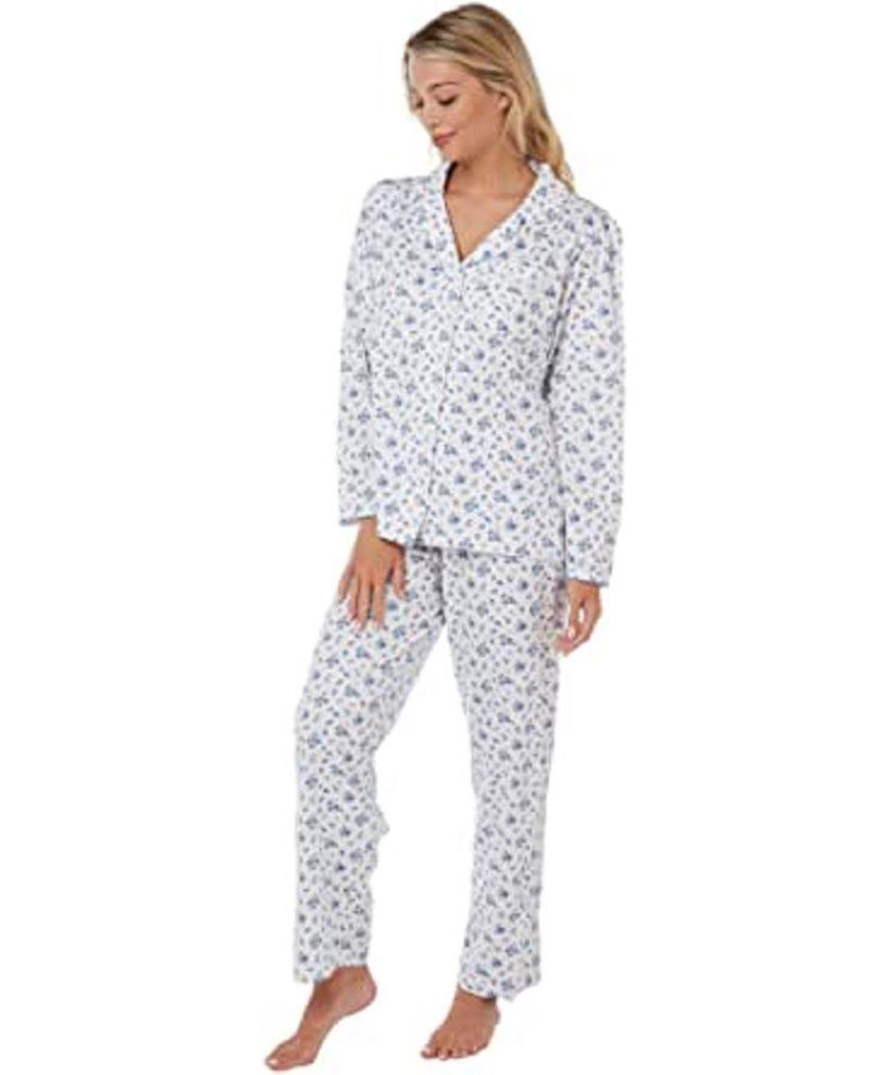 100% Cotton Sara Pyjamas Marlon Blue