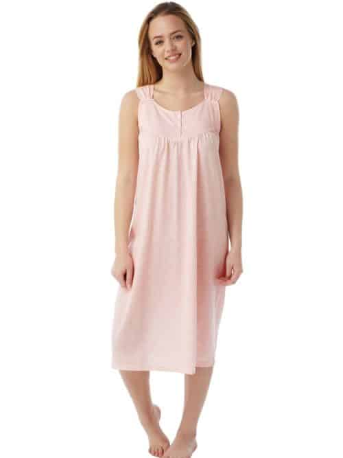 Coral Nightdress Sleeveless Marlon