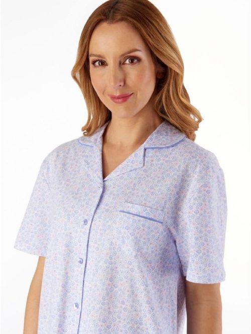 100% Cotton Short Sleeve Pyjama Slenderella