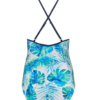 Nicola Jane High Neck Floral Swimsuit