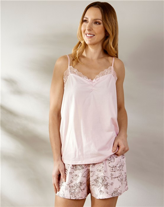 Pyjama Shorts Set Slenderella