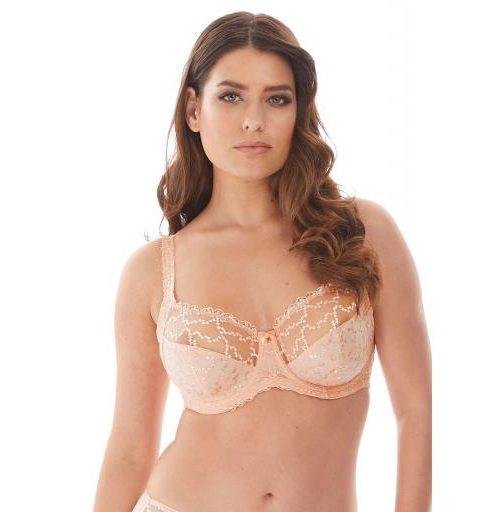 Fantasie Bra Ana lace side support Blush